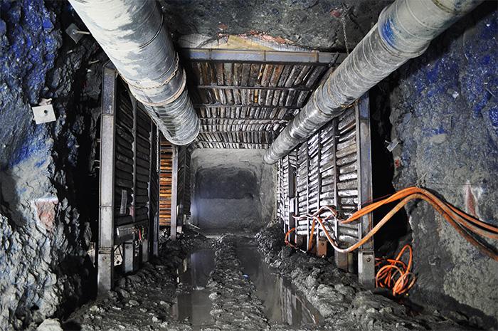 Underground Mining Support Underground Wall Supports